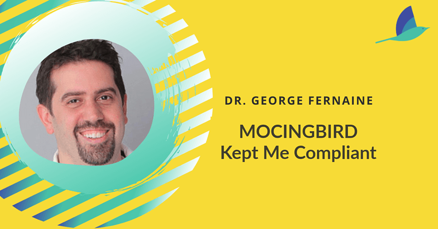Dr. George Fernaine is an interventional cardiologist in New York. Not only is he the co-founder of Mocingbird, he's a user of the platform.